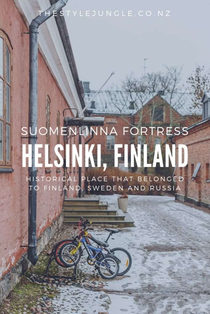 Suomenlinna Fortress in Helsinki, Finland.