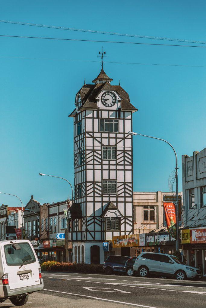 Glockenspiel in Stratford, Taranaki