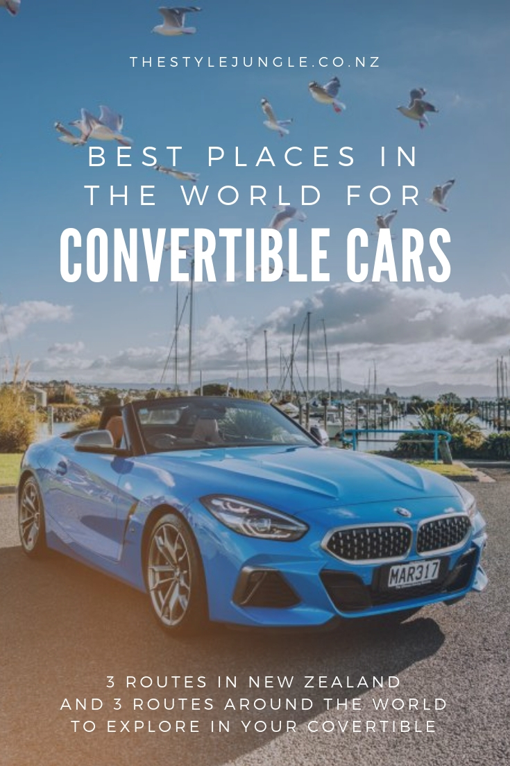 Convertible cars are made for scenic routes. This article includes three best places in New Zealand to take your covertible to, as well as the most picturesque places for a road trip around the world.