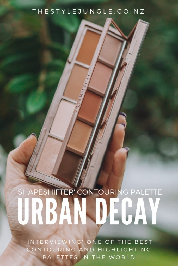 Urban Decay 'Shapeshifter' palette has nine different cream and powder colours to contour, highlight and colour-correct. Everything you need for the makeup in one place!
