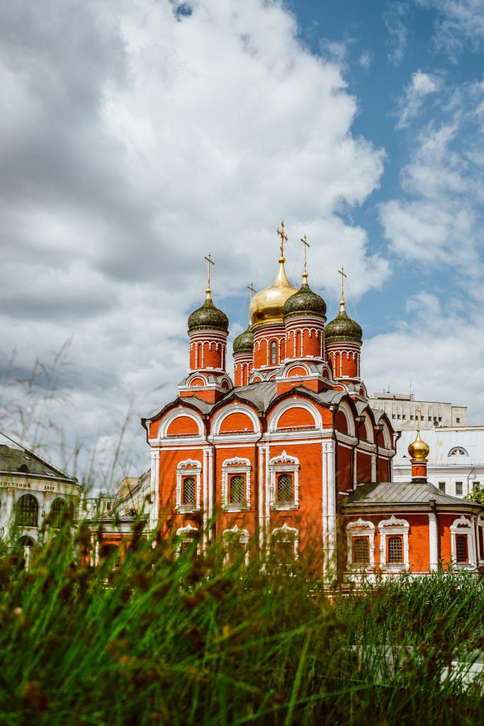 Monastery in Moscow Russia