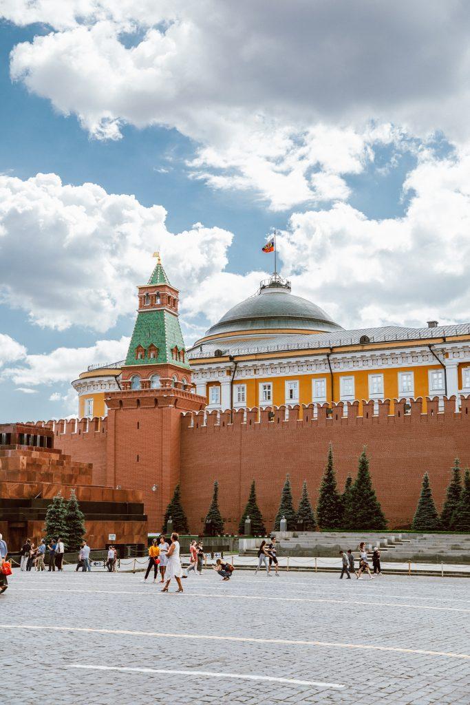 Moscow Kremlin Wall Necropolis