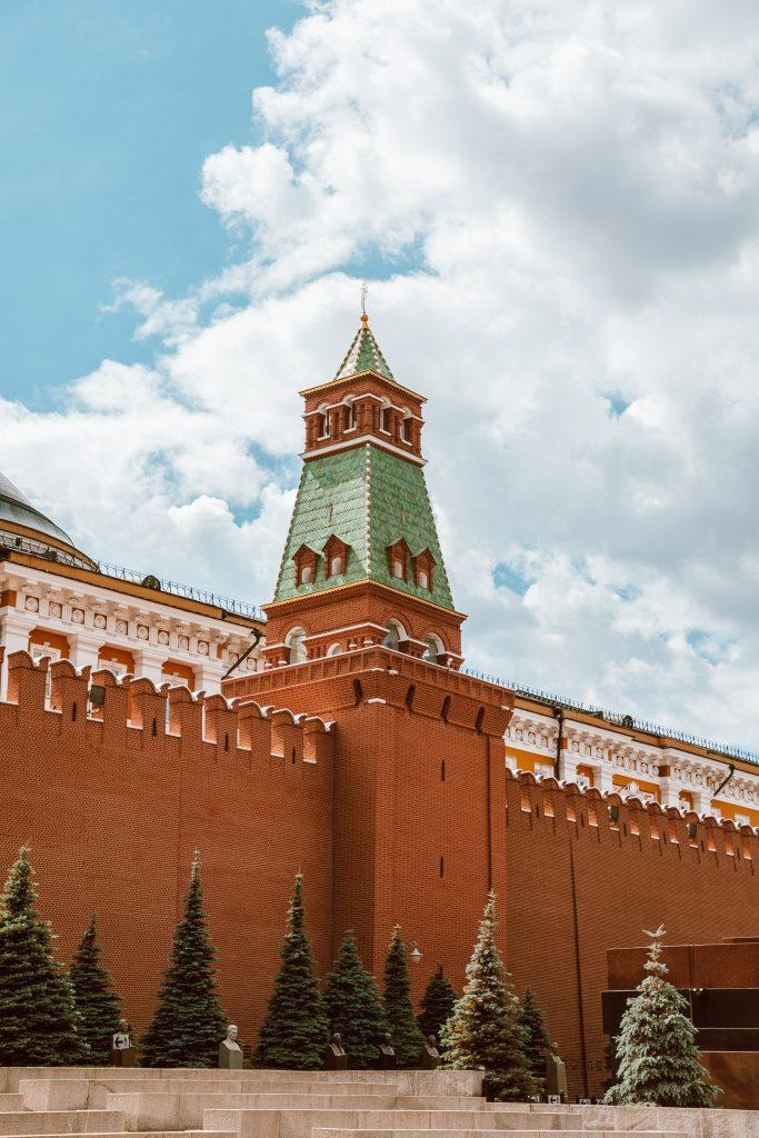 Senatskaya Tower Moscow Kremlin Red Square