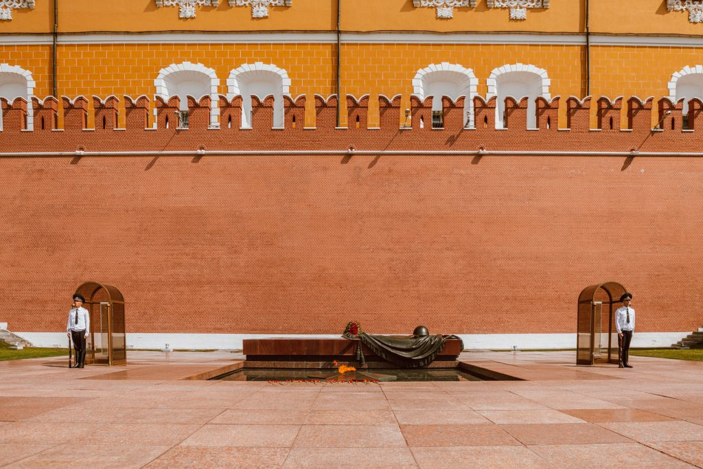 Tomb of the Unknown Soldier Moscow's Red Square