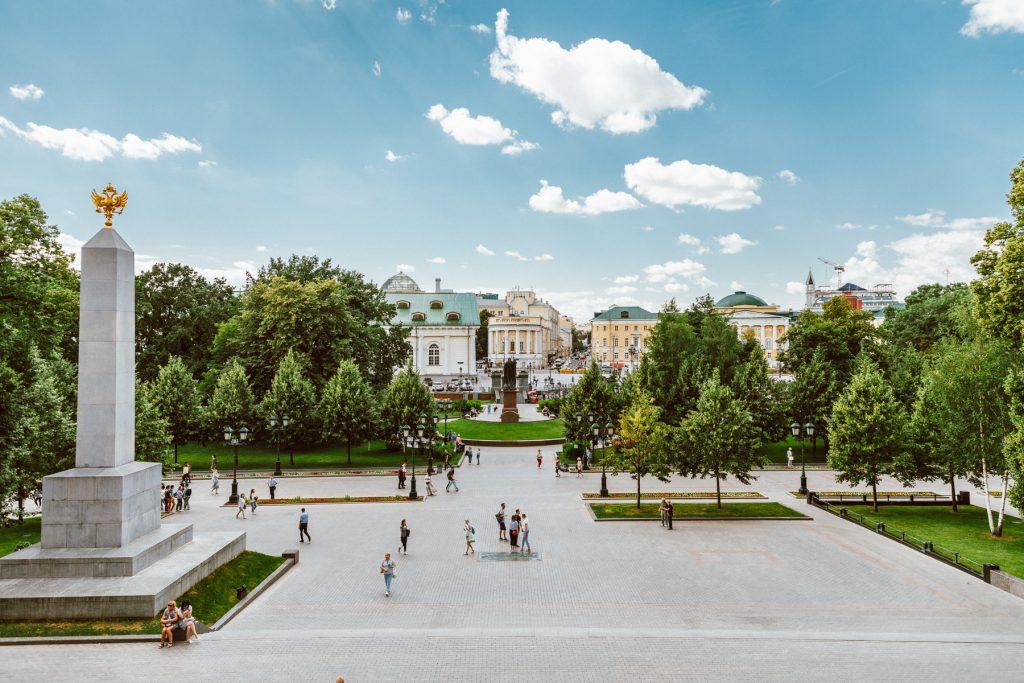 Alexander Garden Red Square