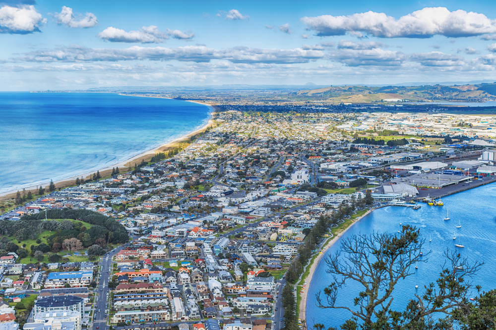 Best view in Tauranga is from the summit of Mount Maunganui