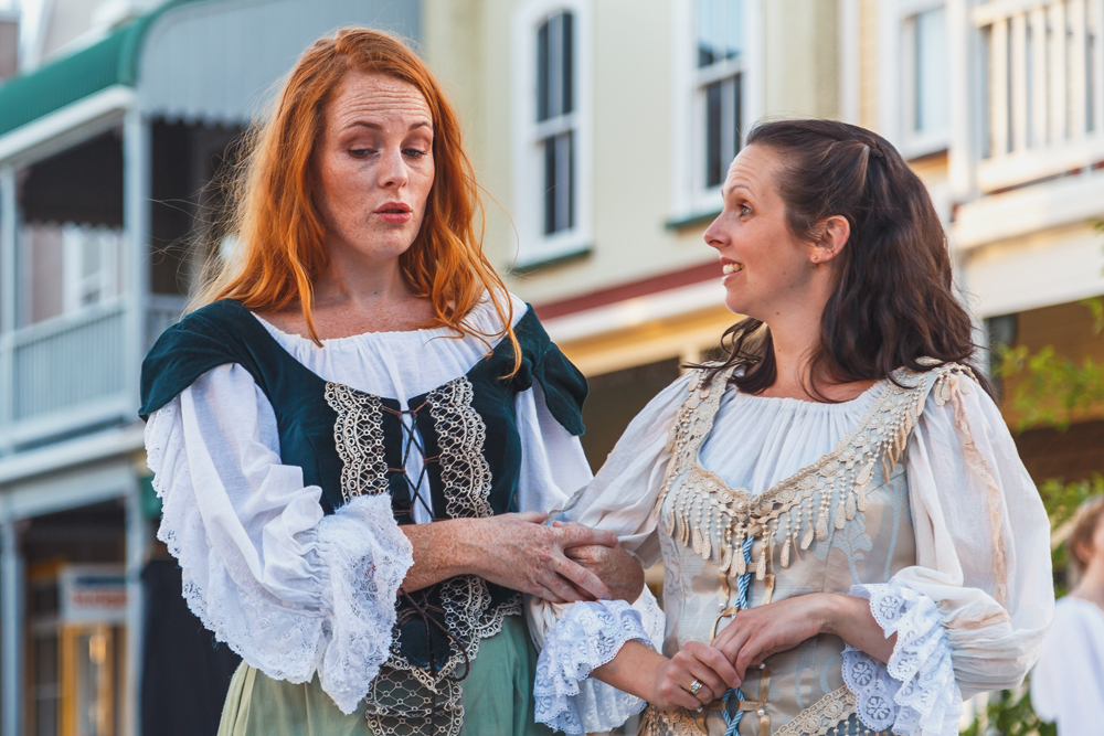 Outdoor Shakespeare Play in Tauranga Historic Village