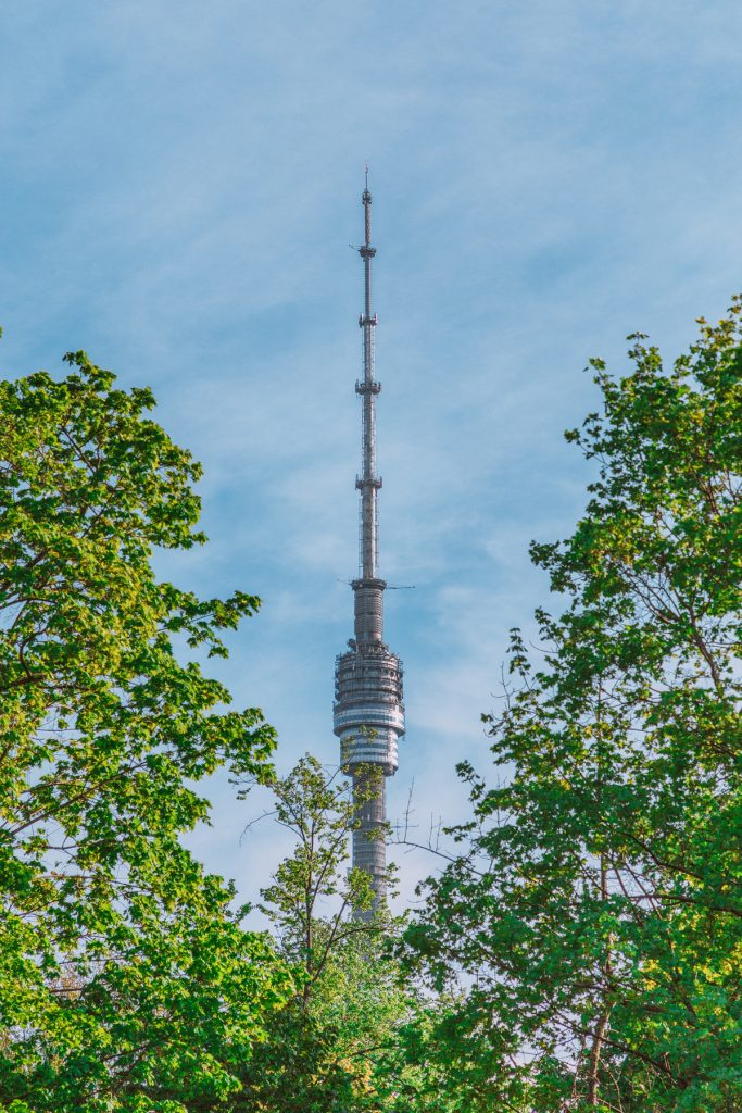 Ostankinskaya TV tower - The highest tower in Europe