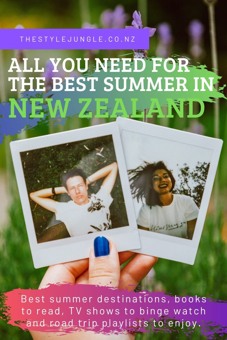 It's summer time in New Zealand! And here is everything you need to know about experiencing the best New Zealand summer ever: best summer destinations in New Zealand, books to read at the beach, road trip playlist for your New Zealand itinerary and best TV shows to binge watch at nights. Have funn this summer!