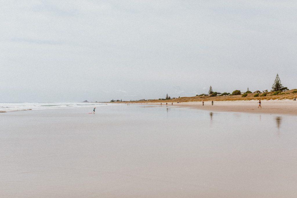 Bay of Plenty beach