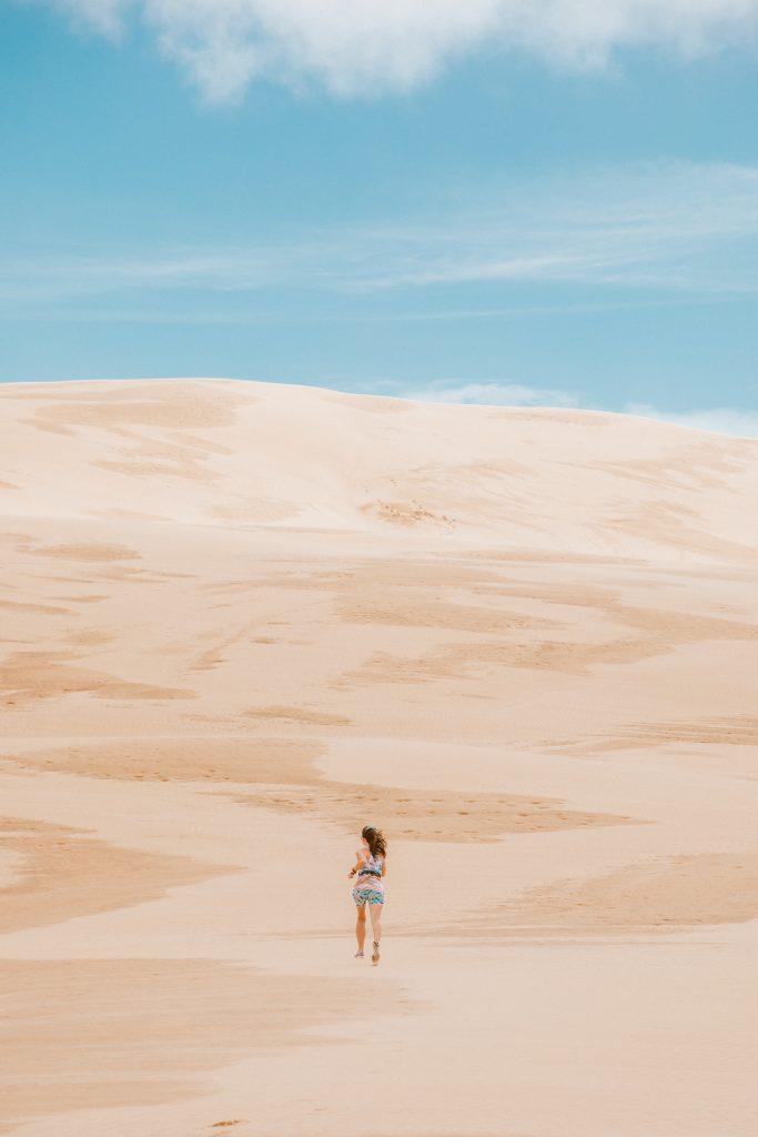 New Zealand, Te Paki Giant Sand Dunes, New Zealand travel guide, what to see in New Zealand, Zeenya Clothing