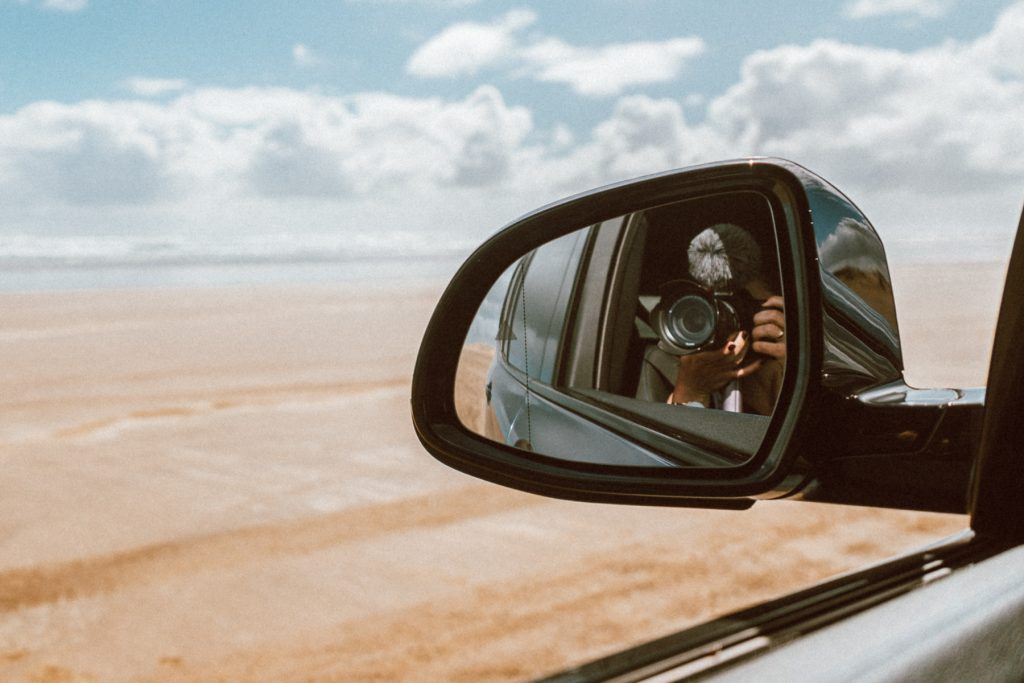 New Zealand, 90 Mile beach, driving at 90 Mile Beach, BMW New Zealand