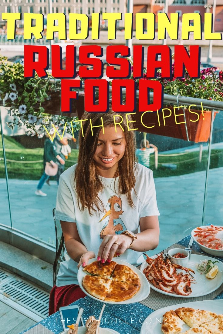 Traditional Russian food is hearty, rich and very delicious. These traditional Russian food recipes include traditional Russian food soups and Russian breakfast, Russian lunch and Russian dinner. These Russian recipes are easy to cook and you'll love the result! Learn which food to try in Russia and cook Russian food at home! Russian travel without leaving home.