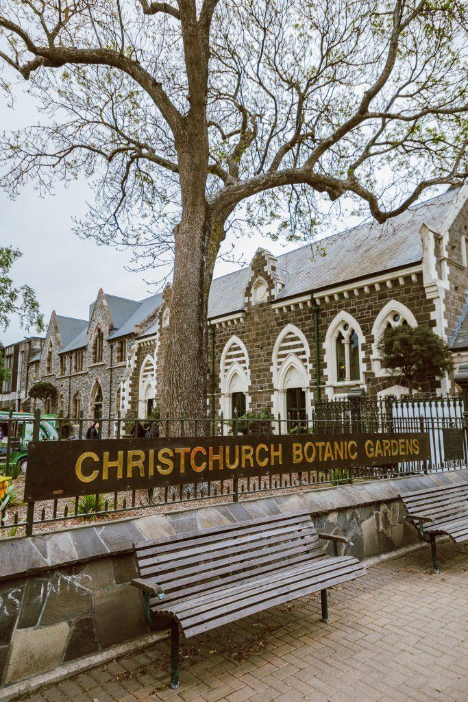 Christchurch Botanic Gardens - top Christchurch attractions