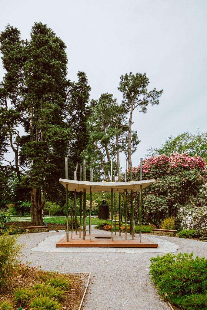 World Peace Bell - Christchurch Botanic Gardens