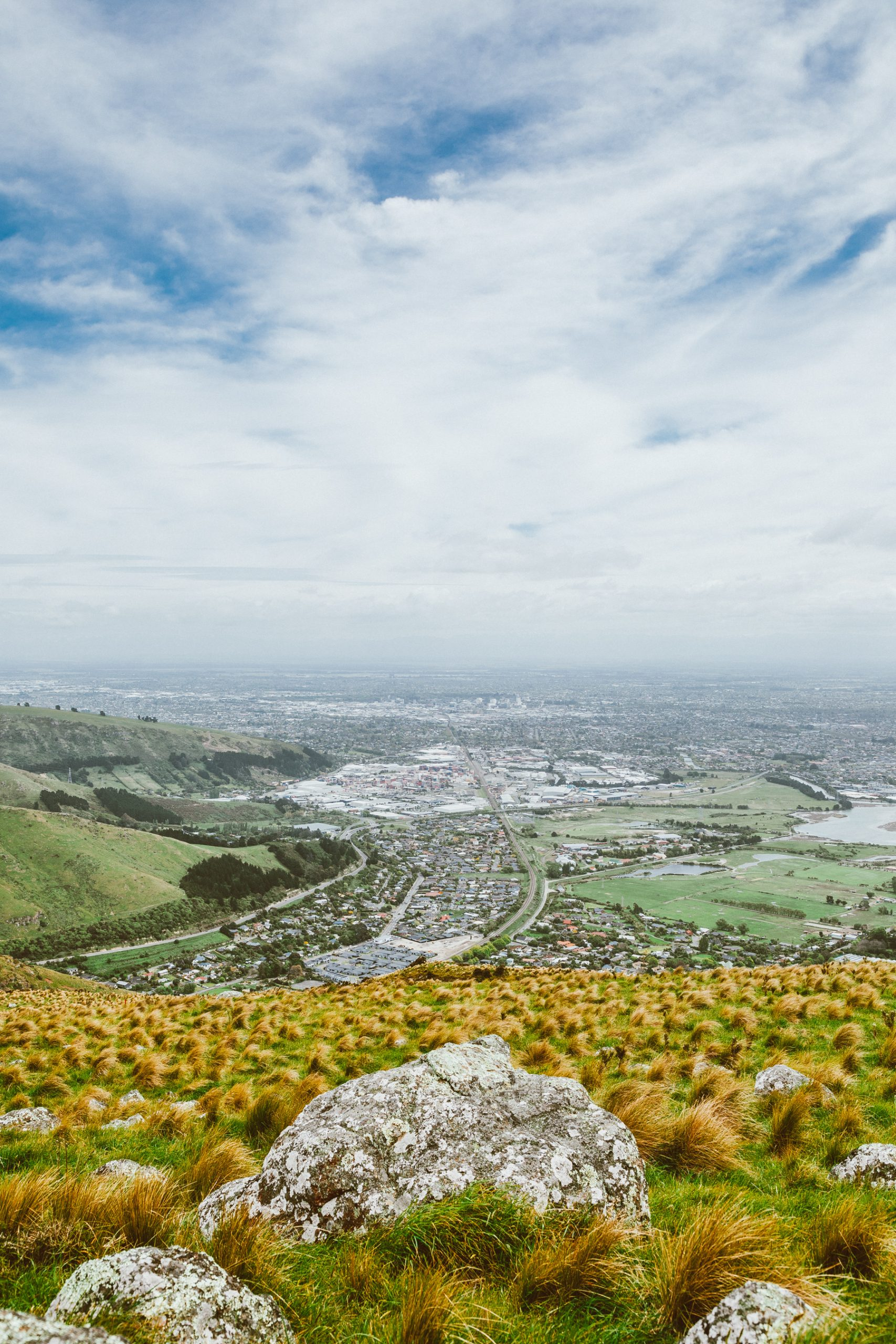 Christchurch - View from the gondola