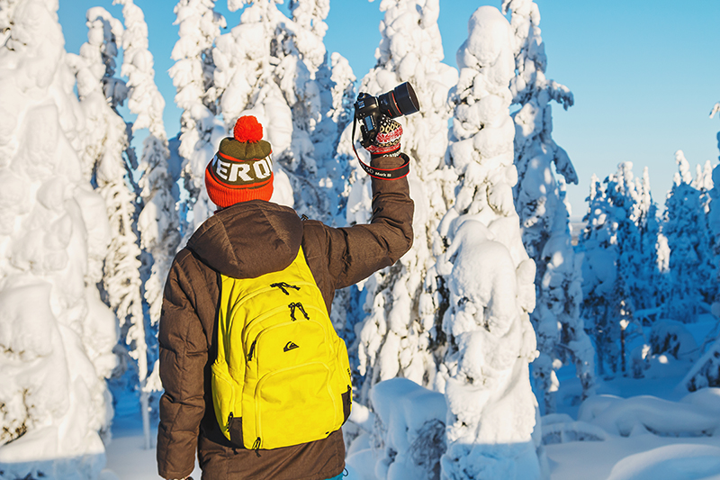 Levi_travel_vlog_video_Lapland_Finland_winter_snow